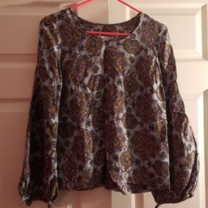 authentic  see by chloe silk blouse